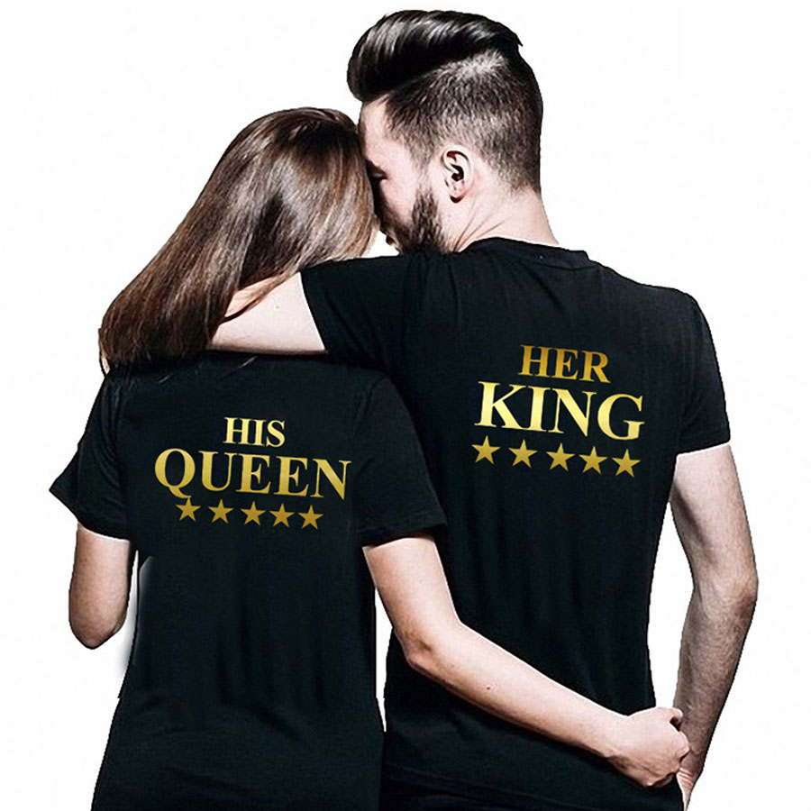 497f584aa78 Her King and His Queen - Couples Shirts - 4FancyFans